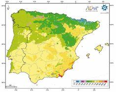 Climas península ibérica. Köppen Weather And Climate, Horticulture, Compost, Seeds, Map, Vegetables, Flowers, Plants, Atlas
