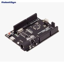 New 2016 - UNO R3 ATmega328P, + A6-A7 pins, MicroUSB. Compatible for Arduino UNO Rev 3.0   New version of Uno R3 – More analog pins. Add A6, A7. Uno R3 CH340G/ATmega328 – compatible with Arduino Uno R3 board. Built on the Atmel ATmega328 microcontroller and USB-UART interface chip CH340G. Board for functionality similar to the Arduino Uno (ATmega 28). It is a budget, but the same stable, and uses the original chips Atmel ATmega328 (16 MHz). The ...    US $2.85…