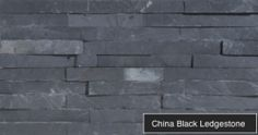 China Black Ledgestone