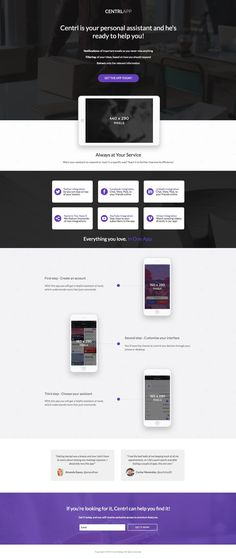 This mobile app is perfect if you have multiple visual assets that you need to showcase in order to close your deal. Take this opportunity to make your app shine! One Page Website, Website Layout, Graphisches Design, Graphic Design, Page Template, Templates, Mobile Web Design, All In One App, First Page