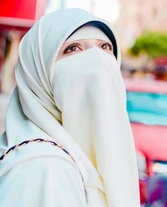 Face Veil, Cute Eyes, Niqab, Real Beauty, Muslim Women, Hijab Fashion, Elegant, Islamic, Womens Fashion