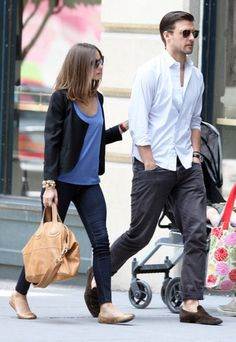Olivia Palermo with her bf in NYC