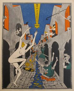 Naughtiness from Paris in the Roaring 20's - Ooh la la!