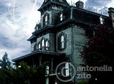 dark place | Flickr – Condivisione di foto! www.reloadfactory.com ph Antonella Zito haunted house - disneyland paris