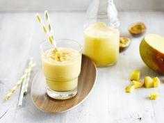 Smoothie à la mangue onctueuse et à la Boisson à base de Coco Alpro Original