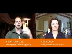 Robert Dempsey of Dempsey Marketing interviews me about my biz strategies. I share how I've built my biz  totally via social media, without spending any money on advertising.