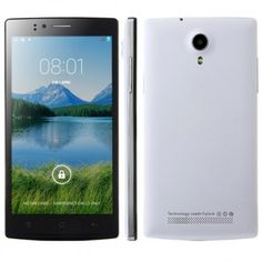 JIAKE JK740 smartphone use 5.5 inch Screen, with MTK6592 octa core 1.7GHz processor, has 1GB RAM, 8GB ROM, 2MP front and 8MP rear dual camera, installed Android 4.4 OS.