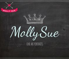 Premade Photography Logo and Watermark Crown by mollysuelogos, $29.99