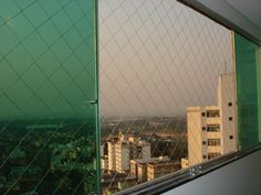 Redes de proteção em janelas...
