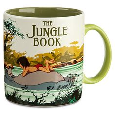 The Jungle Book Mug<----I want to drink tea with Tom Hiddleston with matching mugs. :D