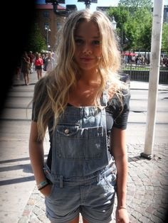 I've been dying to find a pair of cute overalls that don't make me look like a hillbilly!