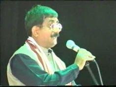 kavi om vyas om with amitabh bachchan in yaad e bacchan kavi sammelan