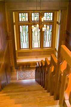 staircase - Arts & Crafts Homes and the Revival