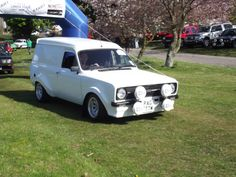 Mk2 escort van with a difference