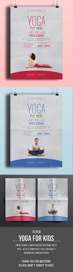 Yoga Flyer - Events Flyers