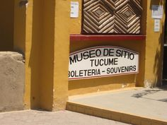 The museum entrance...
