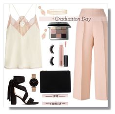 """graduation day 01"" by itgirlcarlota ❤ liked on Polyvore featuring Fendi, Zadig & Voltaire, Whistles, MAC Cosmetics, Bobbi Brown Cosmetics, Rosantica, CLUSE, Graduation and Itgirlcarlota"