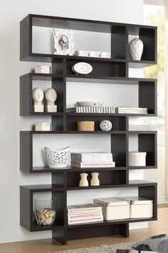 Baxton Studio Ronan Dark Brown/ Espresso Modern Storage Shelf By Baxton  Studio