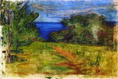 Edvard Munch – The Garden, 1899