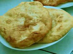 langos03 Hungarian Cuisine, Hungarian Recipes, Good Food, Favorite Recipes, Foods, Drinks, Breakfast, Food Food, Drinking