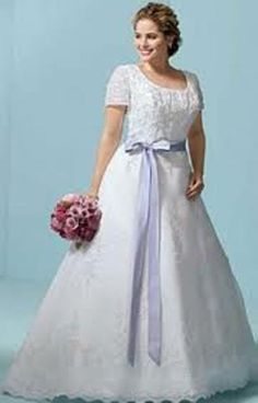 plus size wedding dresses with sleeves - Google Search
