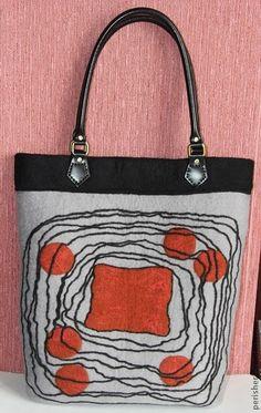 """Сумка """"Острова надежды"""" - сумка женская,сумка ручной работы,сумка с декором"""