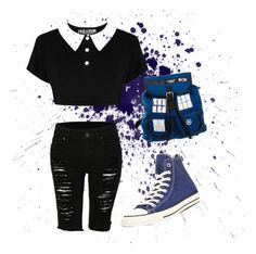 """School with a twist"" by makablue26 ❤ liked on Polyvore"