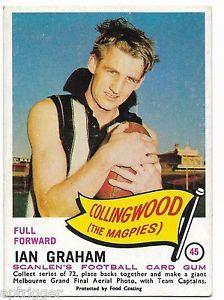 ian graham collingwood Australian Football, Football Cards, Graham, Melbourne, Soccer Cards