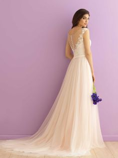 Wedding Dresses, Bridesmaid Dresses, Prom Dresses and Bridal Dresses Allure Romance Wedding Dresses - Style 2900 [2900] - Allure Romance Wedding Dresses, 2016. We adore the dreamy layers of tulle that make up this floating skirt. Fabric: Tulle and Lace