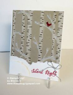 One more beautiful Woodland card! from Flowerbug's Inkspot