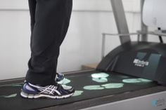 light projection of footprints onto the running belt with step length, width and foot rotation controlled from the software. Running Belt, Footprints, Software, Sneakers, Fashion, Tennis, Moda, Slippers, Fashion Styles