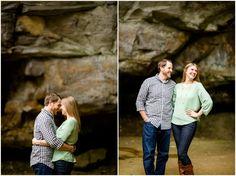 The Gorge Metro Park Fall Engagement Session | Loren Jackson Photography | Photographer Akron Ohio