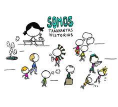 Estamos tan llenos/as de historias. Somos taaaaantas historias... Eeeeegunon mundo!!! Istorioz josiak, historian errotuak... Full os stories,…
