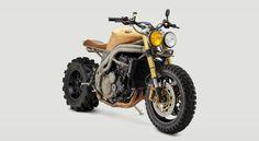 """2007 Triumph Speed Triple 1050 Codenamed """"Frank"""" by Classified Moto - The Hyperbeast https://www.designlisticle.com/2007-triumph-speed-triple-1050-codenamed-frank-by-classified-moto-the-hyperbeast/"""