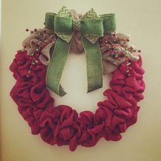 Christmas Holiday Wreath $55    https://www.facebook.com/WreathsbyKasy/