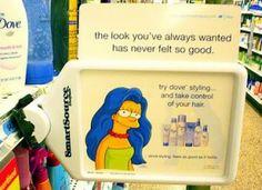 Campagna Dove 2009 - Punti vendita   http://nanaros.wordpress.com/2014/04/27/dove-2009-anche-i-capelli-blu-hanno-bisogno-di-un-anti-crespo/