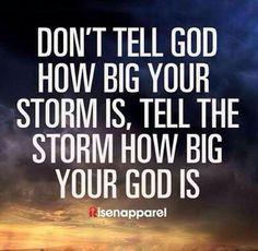 #Quote #Risenapparel #God #storm