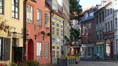 I love the old town in Riga, Latvia