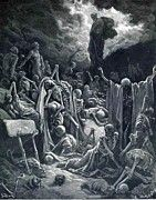 """New artwork for sale! - """" The Vision Of The Valley Of Dry Bones 1866 by Dore Gustave """" - http://ift.tt/2j3oFUK"""