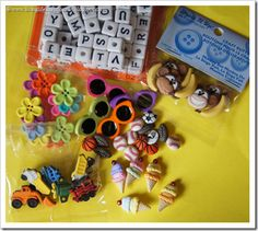 I spy bottles! Fill bottles with colored rice and fun little things to find. Quiet Time Activities, Kindergarten Activities, Crafts For Seniors, Crafts For Kids, Colored Rice, Discovery Bottles, Road Trip With Kids, I Spy, Craft Sale