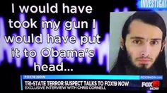 EXCLUSIVE! Terror Suspect 'Chris Cornell' Drops Death Threats On Obama: http://youtu.be/mJtkyIuABN4