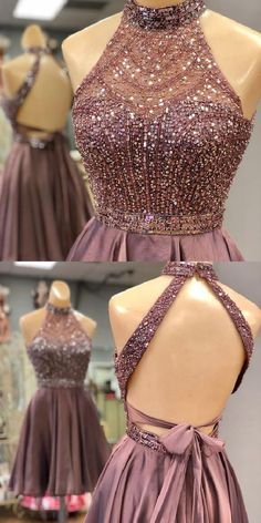 Gorgeous Open Back Short Satin Homecoming Dress Short Prom Dress Prom Dress Open Back Prom Dresses Short Homecoming Dress Homecoming Dress Short Homecoming Dresses Sweet 16 Dresses, Sweet Dress, Pretty Dresses, Gorgeous Prom Dresses, Awesome Dresses, Gorgeous Dress, Open Back Prom Dresses, Hoco Dresses, Sexy Dresses