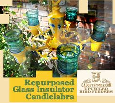 GadgetSponge.com - Repurposing, Upcycling, Birds & Nature Love this site! So many repurposing projects and ideas