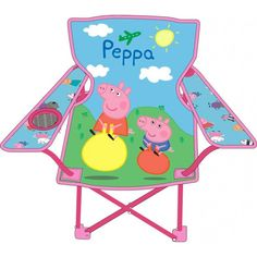Kids Folding Camp Chair - Home Furniture Design Camping Furniture, Home Furniture, Furniture Design, Folding Camping Chairs, Camping With Kids, Peppa Pig, Construction, Store, Birthday