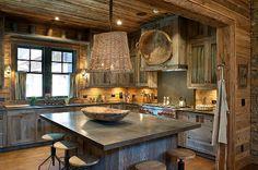 Barn Wood Decorating Ideas | barnwood kitchen by the barnwood cabinet company