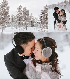 The bride and groom embrace outside the glass igloos in Finland by Maria Hedengren Photography Wedding Shoot, Wedding Day, Winter Wedding Inspiration, Happy Day, Finland, Groom, Bride, Couple Photos, Winter Weddings