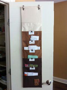 Hanging Paper Organizer