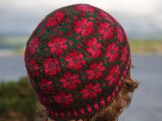Britta hat pattern by Johanne Landin