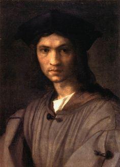 1520 Andrea del Sarto: Retrato de Baccio Bandinello, pintor y escultor