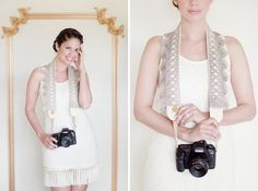 A cute camera strap would make a great gift for a budding photographer.